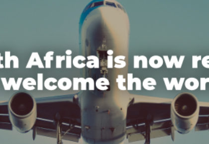 South Africa is now ready to welcome the world.